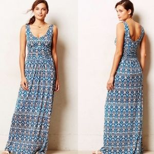 Vanessa Virginia Printed Maxi Dress Small Petite